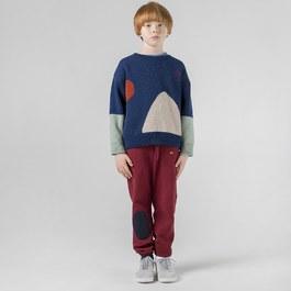 混羊毛針織套頭衫(版型偏大)