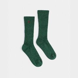 閃亮金蔥中筒襪