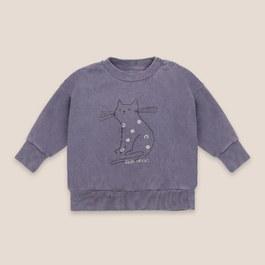 Baby小貓咪刷色微刷毛衛衣