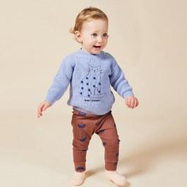 Baby小雨傘針織Leggings(貼身版型)