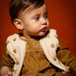Baby 球球羊毛背心 (版型偏小)