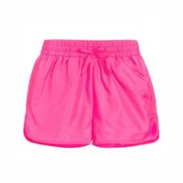 霓虹粉空氣感運動短褲