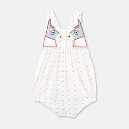 Baby Yvette 驢子刺繡連身衣