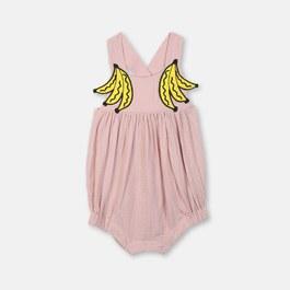 Baby 香蕉造型吊帶連身衣