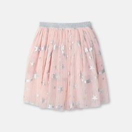 閃亮星星薄紗蓬裙