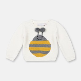 Baby 嗡嗡嗡蜜蜂針織套頭衫(版型偏小)