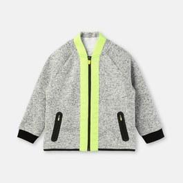 霓虹黃衛衣外套