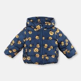 Baby 嗡嗡嗡蜜蜂鋪棉刷毛外套