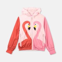 Flamingo 防水連帽薄款夾克