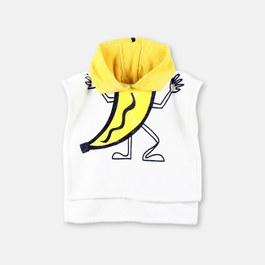香蕉先生連帽海灘大毛巾