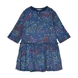 Kiwi 滿天星絲質洋裝(版型偏大)