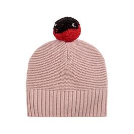 Baby 小瓢蟲球球針織帽