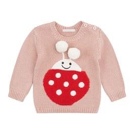 Baby 小瓢蟲針織套頭衫(版型偏小)