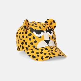 獵豹帆布遮陽帽