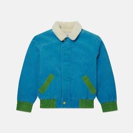燈芯絨刷毛夾克