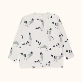 鴿子造型薄棉上衣(版型偏大)