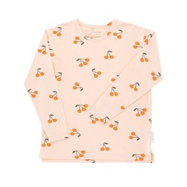Baby 櫻桃造型薄棉上衣(版型偏大)