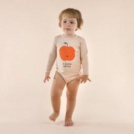 Baby 小蘋果造型連身衣