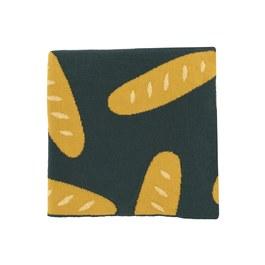 法式長棍麵包棉毯 (90x90)