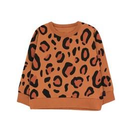 豹紋微刷毛衛衣(版型偏大)