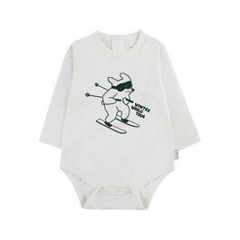 Baby 滑雪的狗連身衣