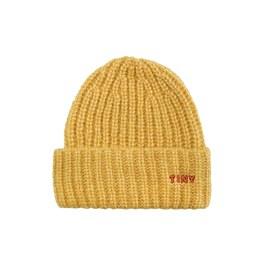 Tiny 舒服毛帽_芥末黃