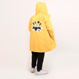 Tiny Fuji 中長版薄款風衣外套