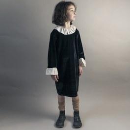 天鵝絨洋裝