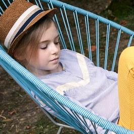 法式織帶編織草帽