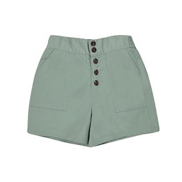 女孩短褲_土耳其綠