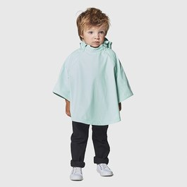 Crouching Tiger 湖水綠雨衣連帽斗篷