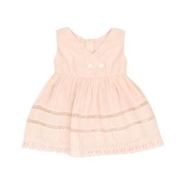 Baby 蕾絲鏤空小洋裝