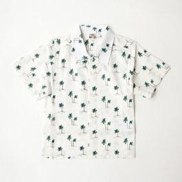 棕櫚樹短袖襯衫