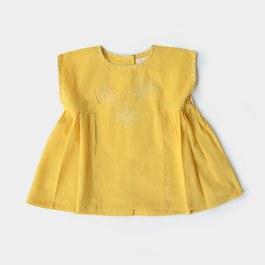 Baby Flavia 花朵刺繡上衣