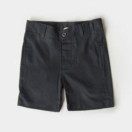 Leo 碳黑色五分褲