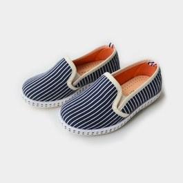法式條紋休閒便鞋