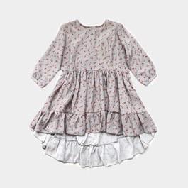 花朵天絲棉洋裝(建議拿小一號)