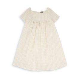 金線格紋洋裝(版型偏大)