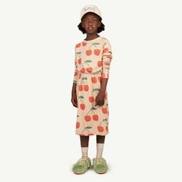 櫻桃薄棉刷舊洋裝