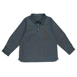 Remi 藍黃細格紋襯衫