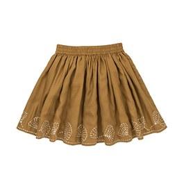 Emma貝殼刺繡圓裙