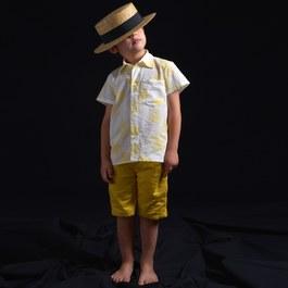 Orso 花朵薄棉襯衫