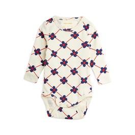 Baby 小花有機棉連身衣