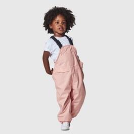 粉色吊帶雨褲(薄款)