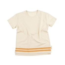 Baby 條紋米灰色上衣(版型偏大)