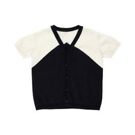 Baby V領棉質針織上衣(版型偏大)