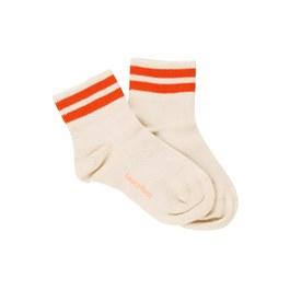 復古條紋短襪