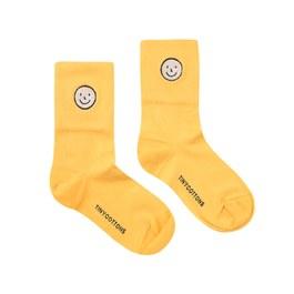 笑臉造型中筒襪