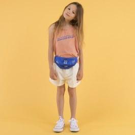 夏日白色打摺短褲(版型偏大)