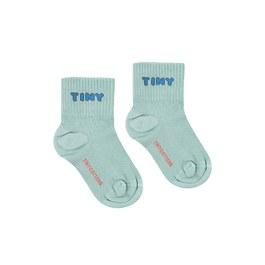 Logo 薄荷藍短襪